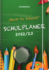 "SP020 Schulplaner ""Back To School"""